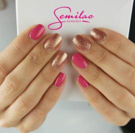 Semilac gelpolish 007 Pink Rock 7ml