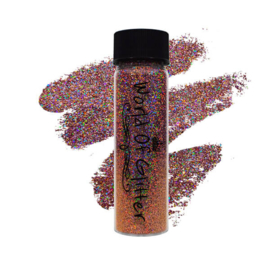 World of Glitter - Sofia Pink Supercharged Holographic Nail Glitter