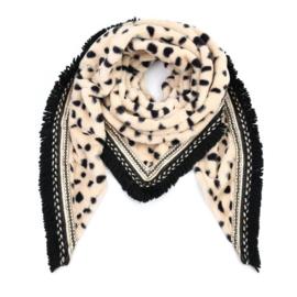 Sjaal Soft Cheetah print