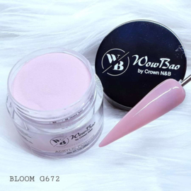 WowBao Nails acryl poeder nr G672 Bloom 28g