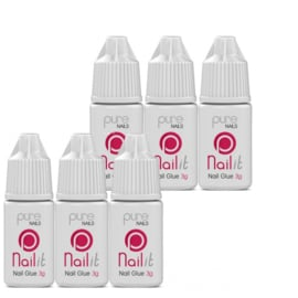 Pure Nails lijm 3gr. 6x