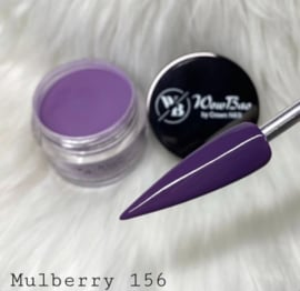 WowBao Nails acryl poeder color nr 156 Mulberry 28g