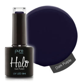 Halo Gelpolish Dark Purple 8ml