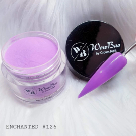 WowBao Nails acryl poeder nr 126 Enchanted 28g