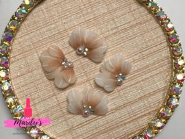 3D nailart bloem acryl 32 peach