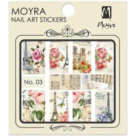Moyra Water Transfer Nailart Sticker 03