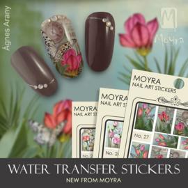 Moyra Water Transfer Nailart Sticker 27