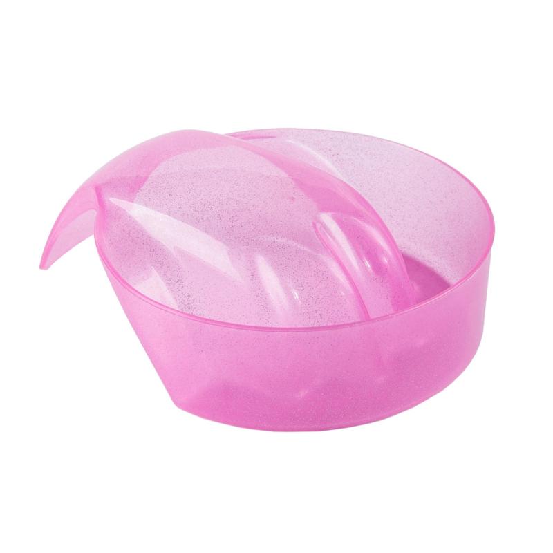 Manicure bakje roze metallic