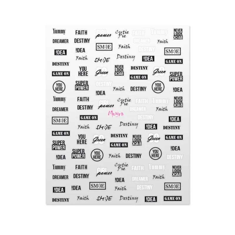 Moyra Matrica sticker No.09