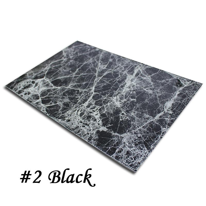 Marmer werk mat zwart