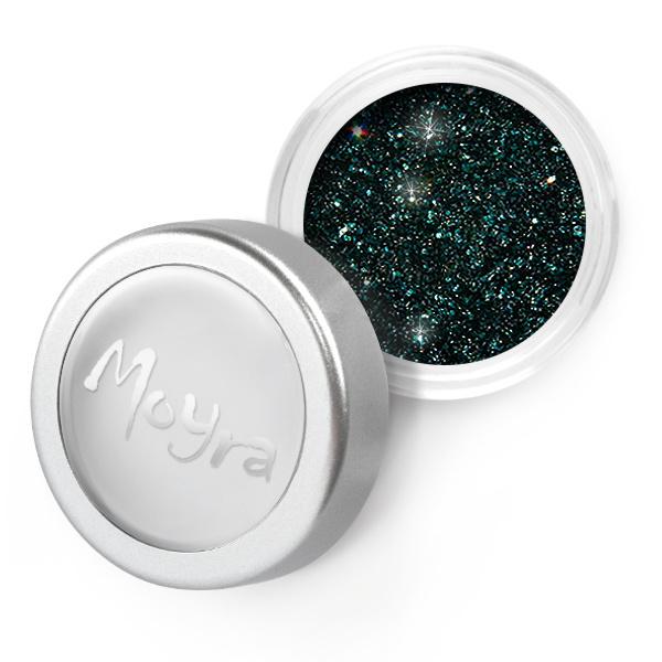 Moyra Glitter Powder 29 Donker Groen