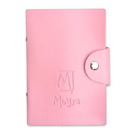 Moyra Stempel platen mapje roze