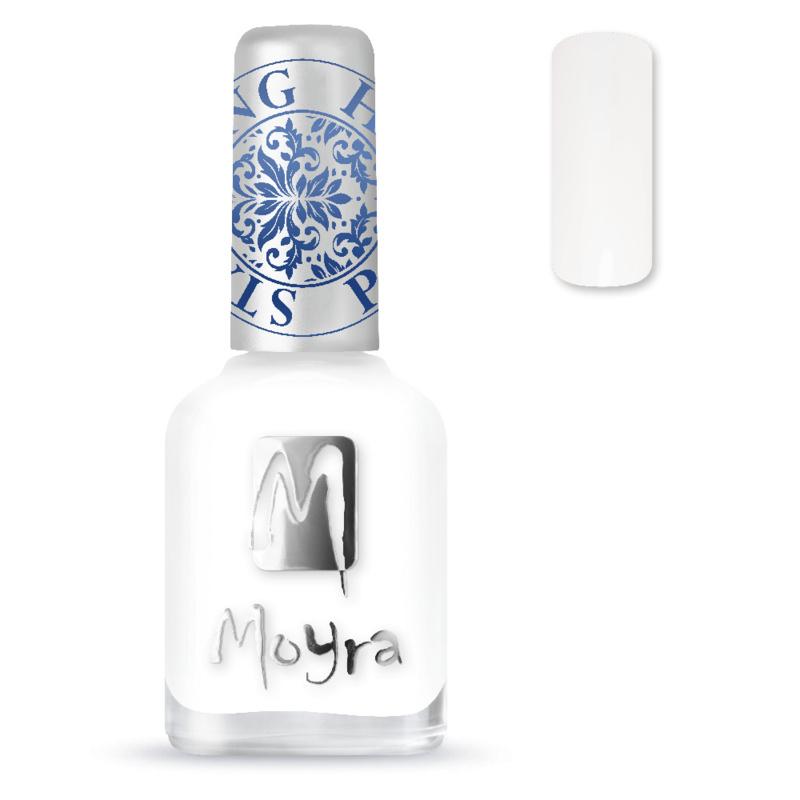 Moyra Stempel Nagellak sp07 white