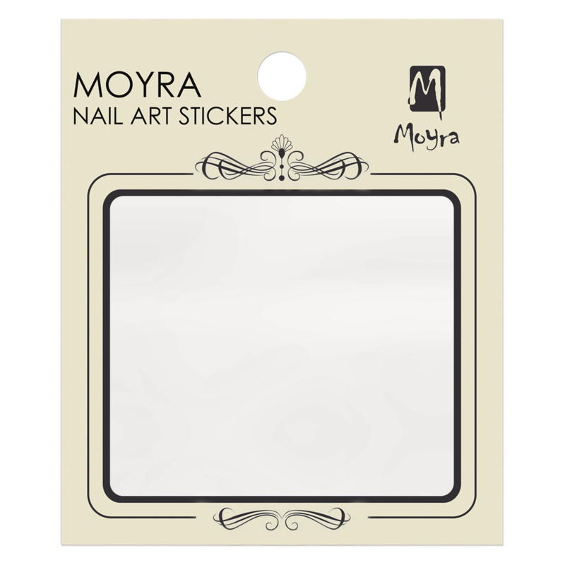 Moyra Water Tranfer Nailart Sticker om zelf te maken