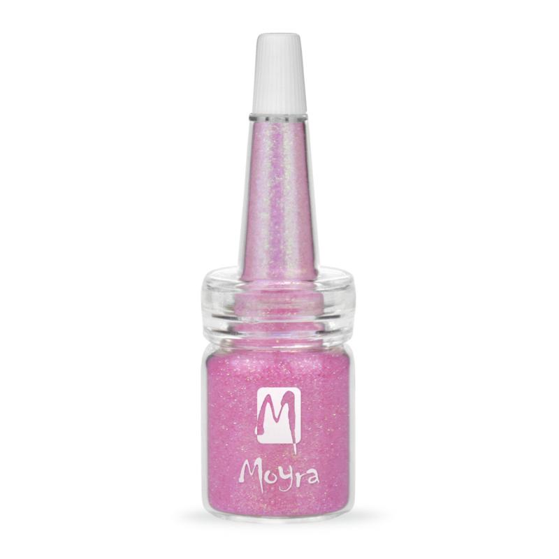 Moyra Glitter in Flesje nr. 08 - Roze