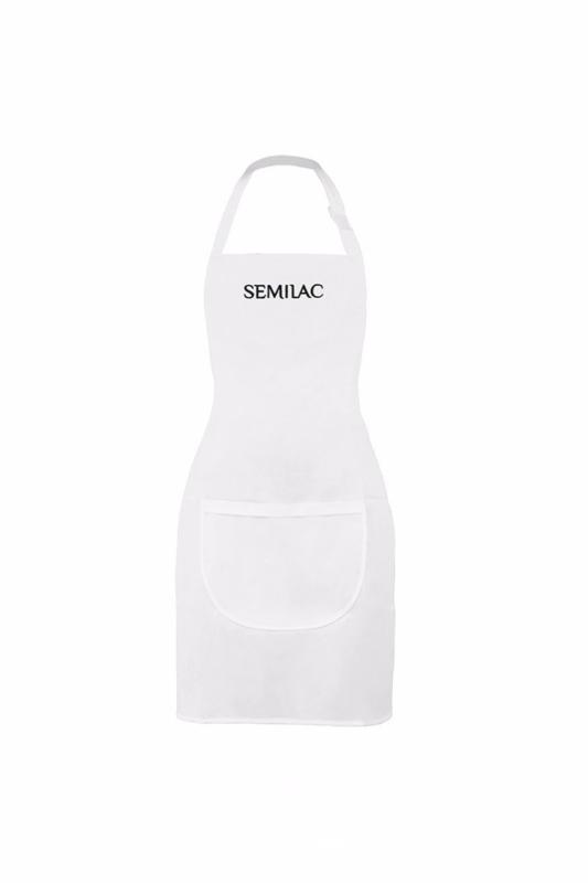 Semilac schort wit zwart