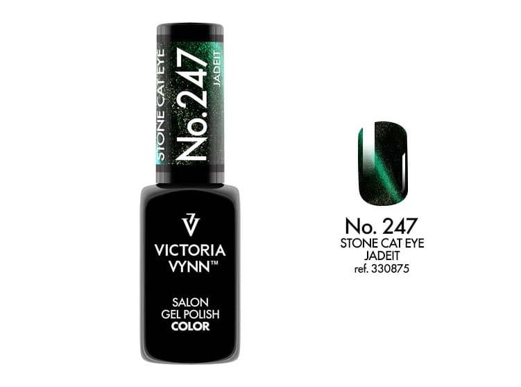 Victoria Vynn Salon Gelpolish Stone Cat Eye 247 Jadeit