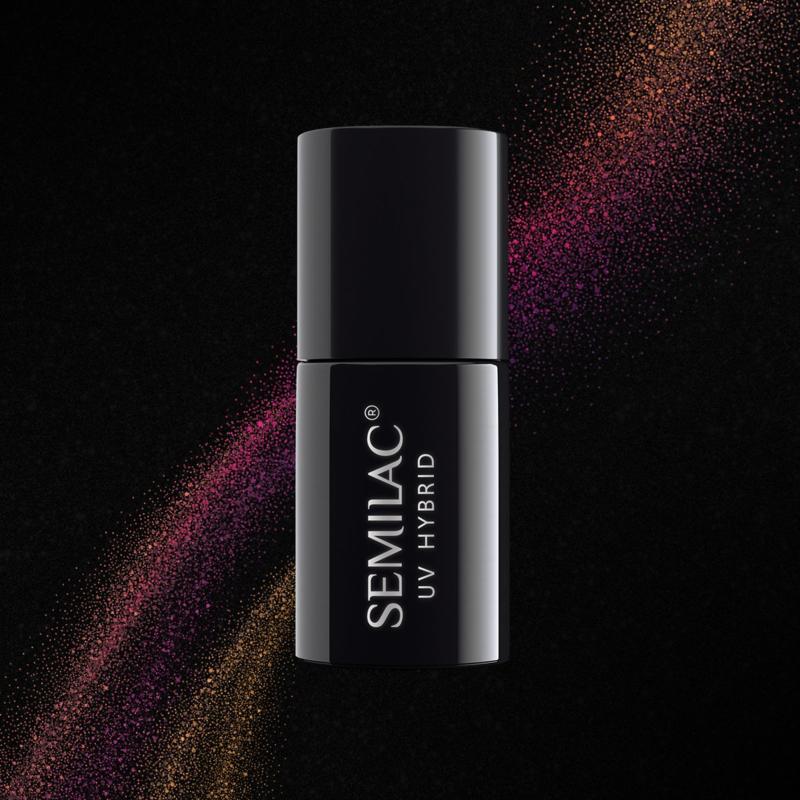 Semilac 3D Cat Eye gelpolish Violet 637