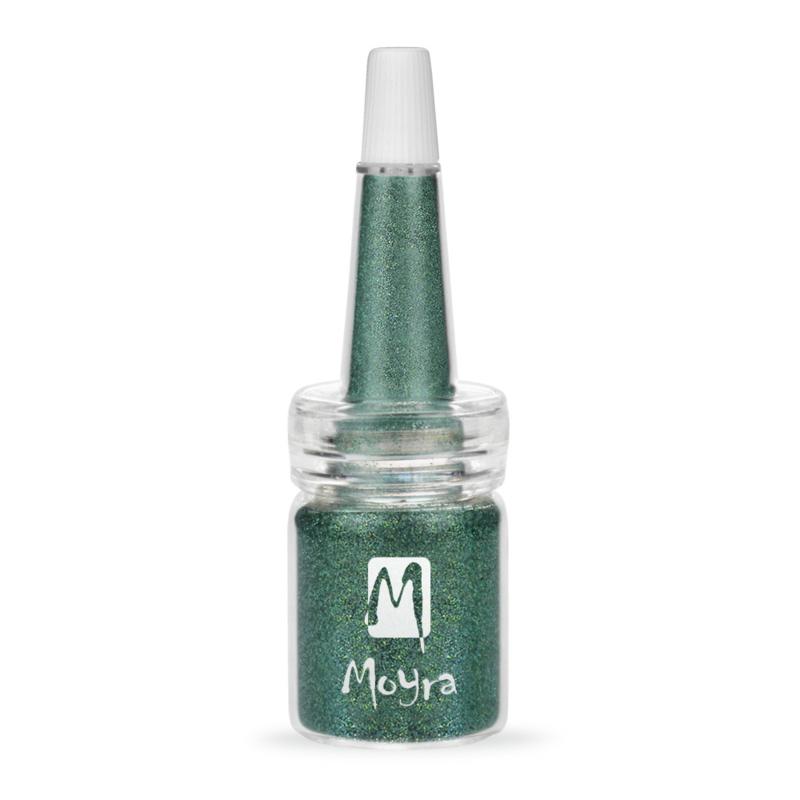 Moyra Glitter in Flesje nr. 10 - Turquoise Holo