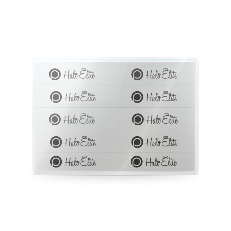 Halo Elite blokvijlen wit 120 grit 10st