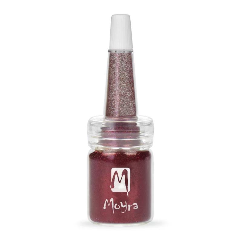 Moyra Glitter in Flesje nr. 15 - Rood