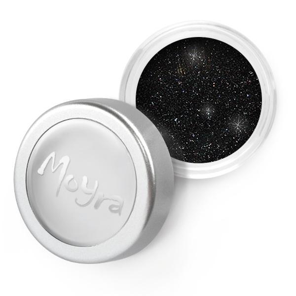 Moyra Glitter Powder 30 zwart