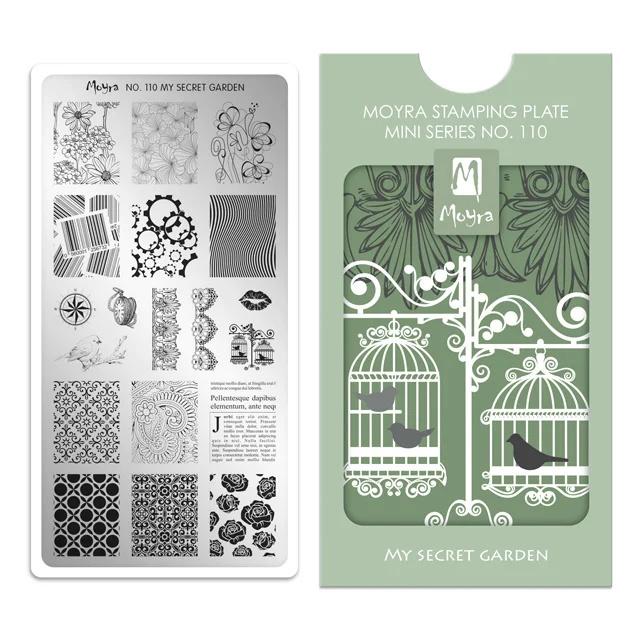 Moyra Mini Stempel Plaat 110 My Secret Garden