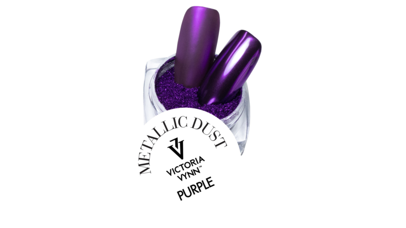 Victoria Vynn Metallic Dust 21 Purple