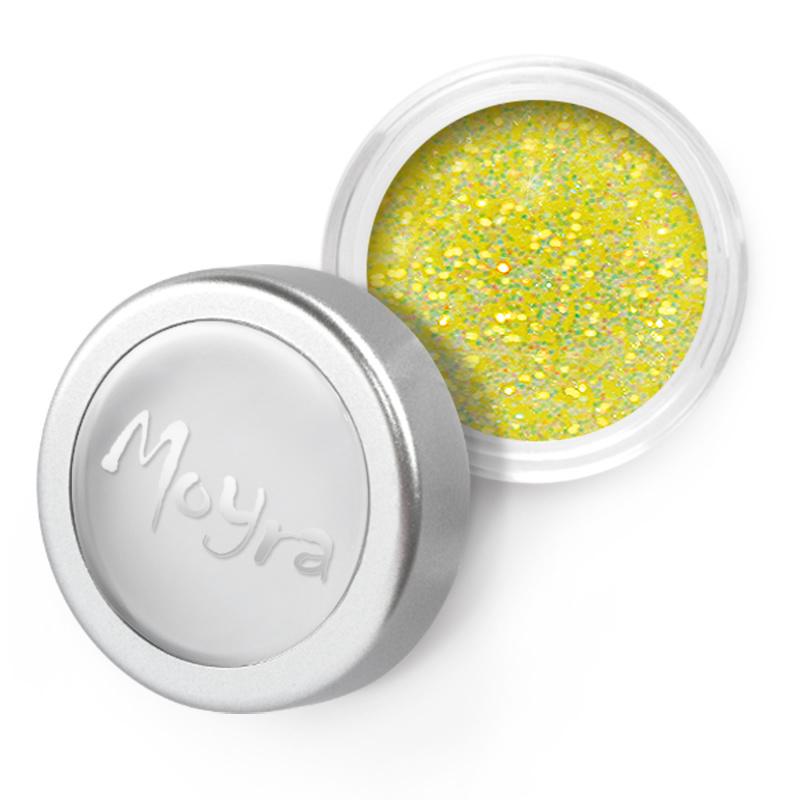 Moyra Glitter Powder 07 geel