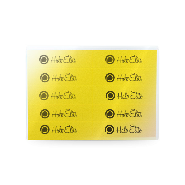 Halo Elite blokvijlen geel 220 grit 10st