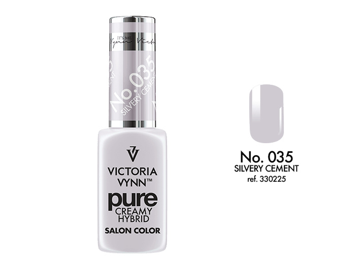 Victoria Vynn Pure Gelpolish 035 Silvery Cement