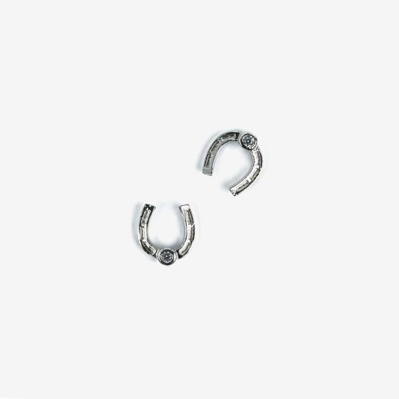 Semilac nailart hoefijzer zilver 787 2pcs