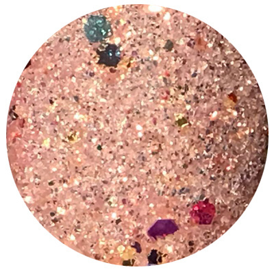 Metoe Nails Celebrities Glitter Pink Panter