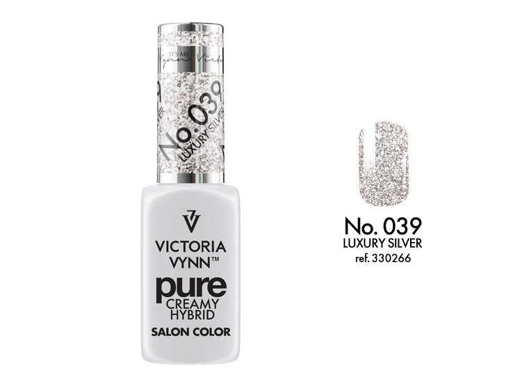 Victoria Vynn Pure Gelpolish 039 Luxury Silver