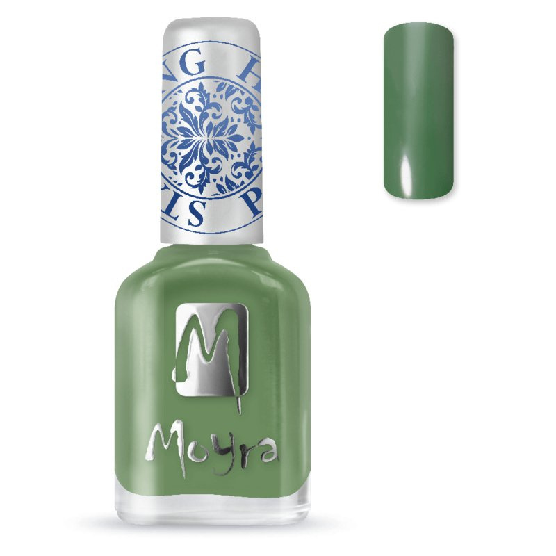 Moyra Stempel Nagellak sp14 dark green