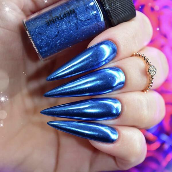 World of Glitter - Neptune Blue Chrome Dust
