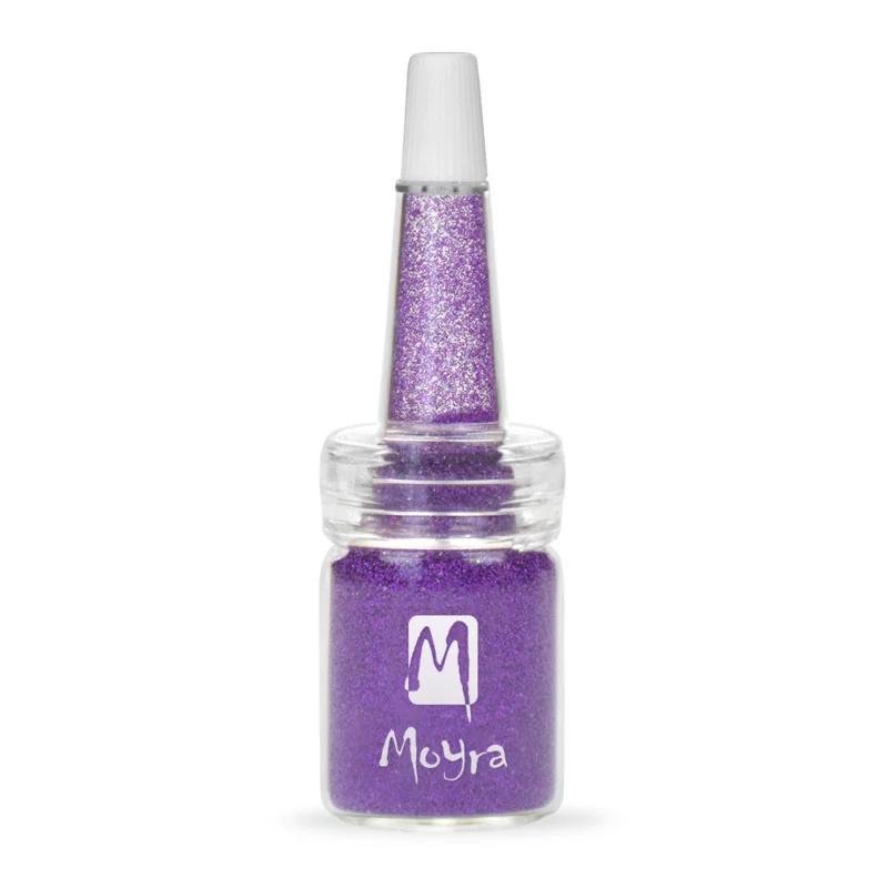Moyra Glitter in Flesje nr. 16 - Paars