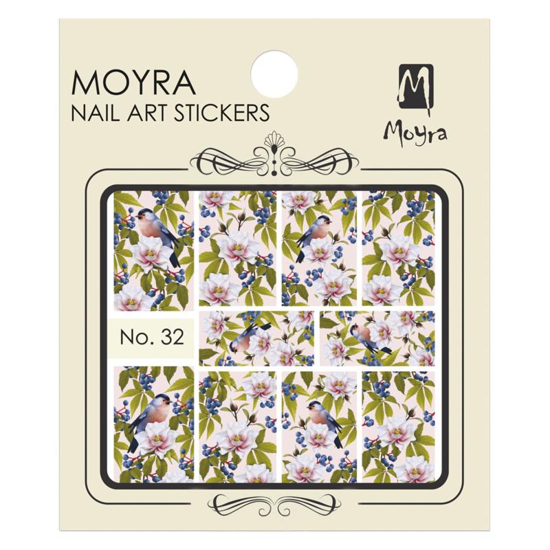 Moyra Water Tranfer Nailart Sticker 32