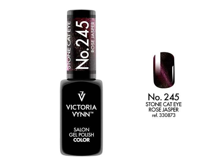 Victoria Vynn Salon Gelpolish Stone Cat Eye 245 Rose Jasper