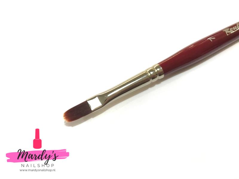 Roubloff DCr33R-7 ovaal gel penseel