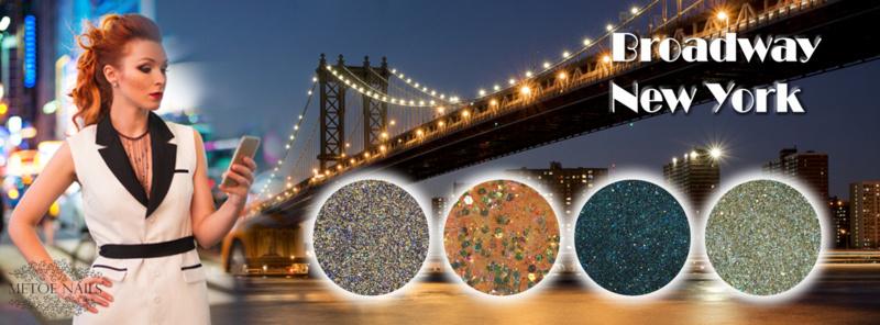 Metoe Nails Complete Collectie Broadway New York