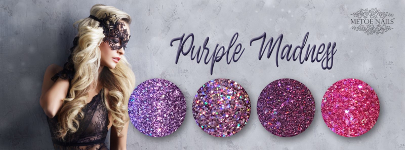 Metoe Nails Complete Collectie Purple Madness