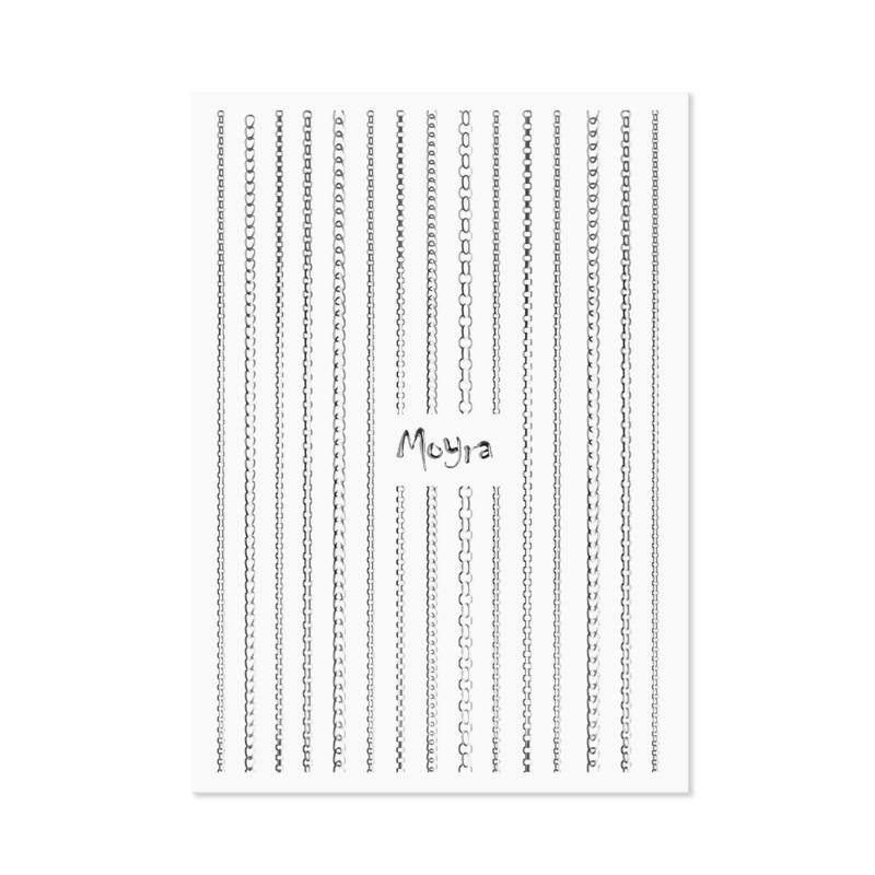 Moyra Nail Art Strip Chain 02 Zilver