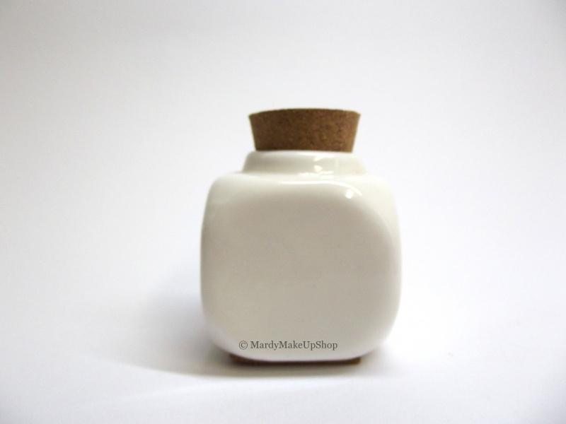 Dappendish porcelein wit