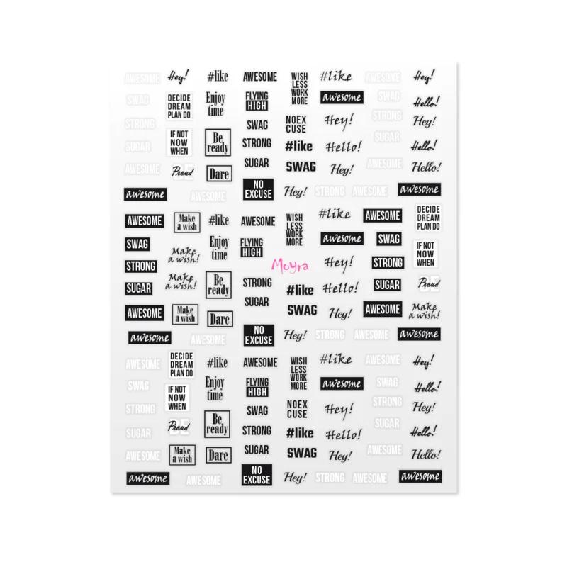 Moyra Matrica sticker No.11