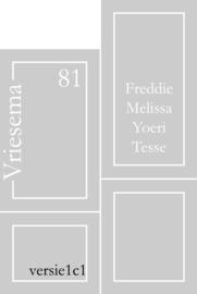 Maatwerk raamfolie - Melissa