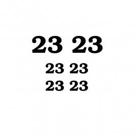 maatwerk - huisnummers