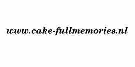 maatwerk autosticker - Cakefull memories