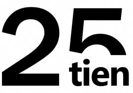 Autosticker 25tien en autosticker www.25tien.nl