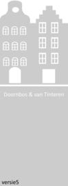 maatwerk raamfolie - fam  Doornbos